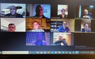 Reunió digital dels presidents rotaris de la província de Girona