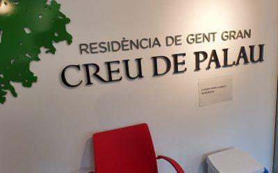 Creu de Palau rep material sanitari de Stuc Pintors