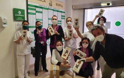 Donació de galetes Trias a centres sanitàris