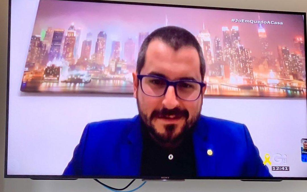 Entrevista de TV Girona a Dani Valls