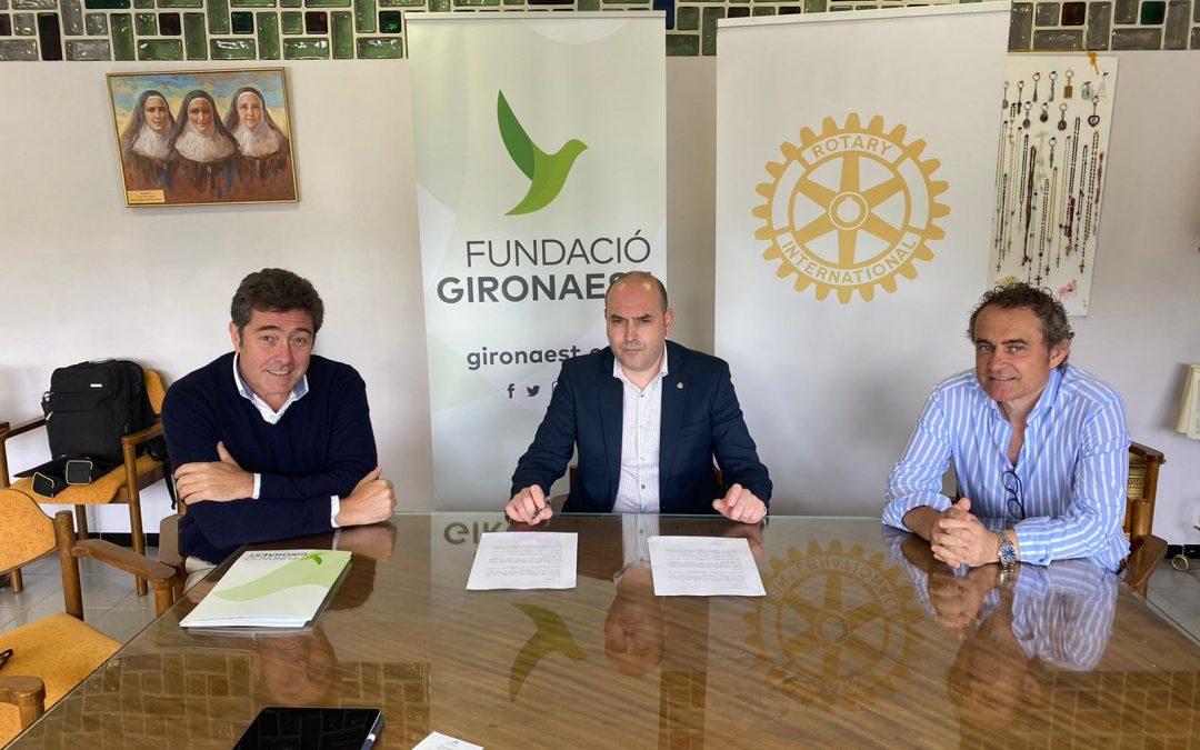 Conveni de col·laboració amb la Fundació GironaEst
