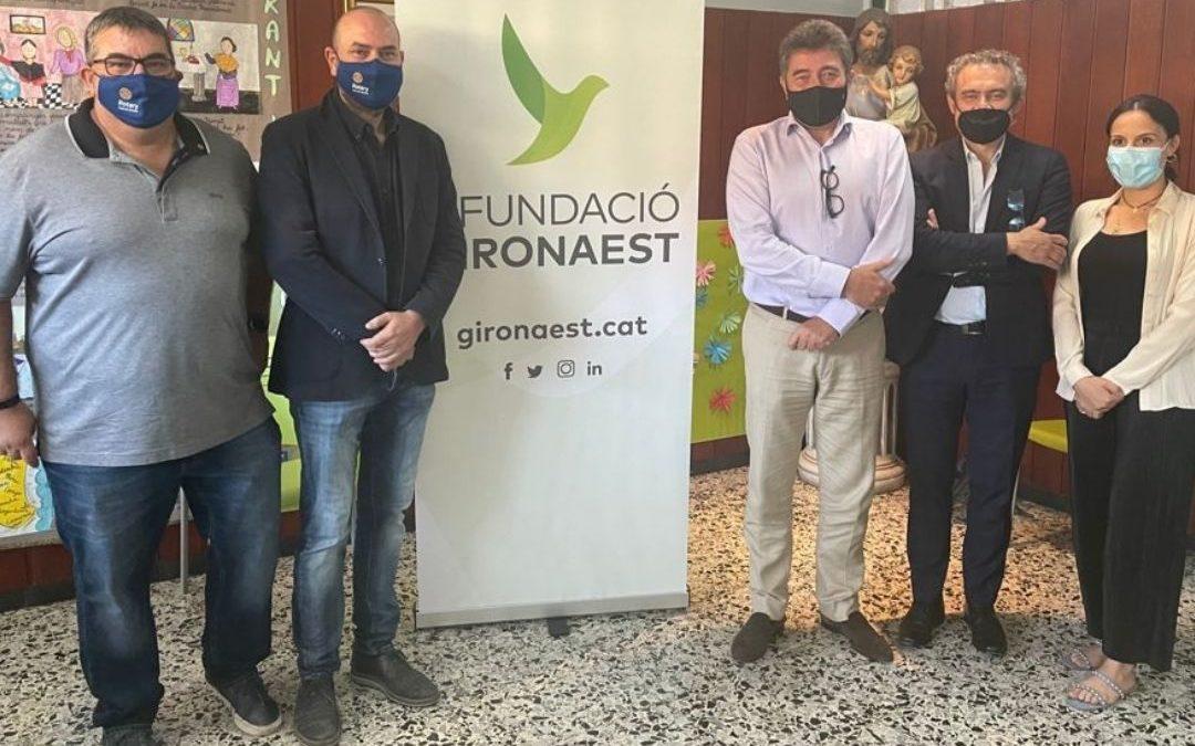 Conveni de Col·laboració amb la Fundació Girona Est per a l'apadrinament de beques del projecte Música a l'Est